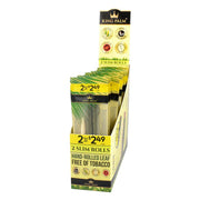 King Palm Slim Size Leaf Rolls - Unflavored Box