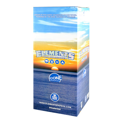 Elements Rice Pre-Rolled Cones | 800pc Bulk Box