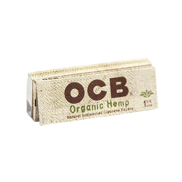 OCB Organic Hemp Rolling Papers & Tips | 1 1/4 Inch