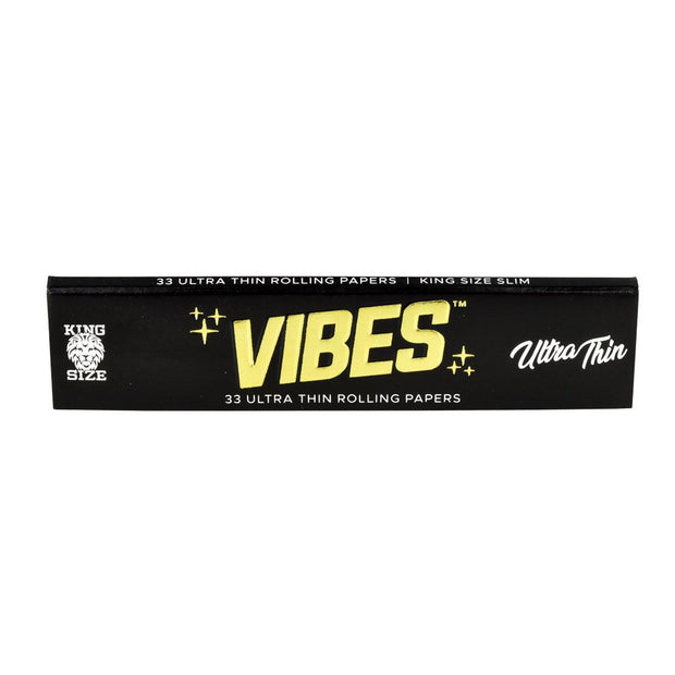 VIBES Ultra Thin Rolling Papers | Kingsize Slim Single