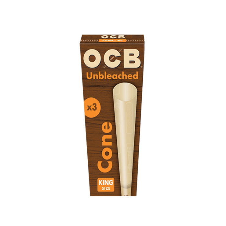OCB Unbleached Pre-rolled Cones - Kingsize