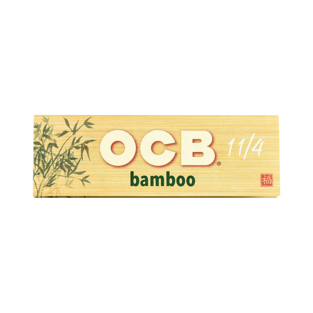 OCB Bamboo Rolling Papers - 1 1/4 Inch