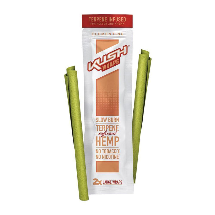 Kush Wraps Terpene Infused Hemp Wraps | Clementine