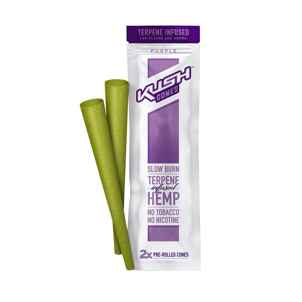 Kush Cones Terpene Infused Hemp Cones | Purple | Single