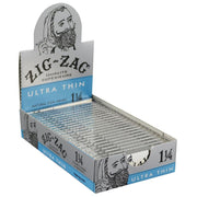 Zig Zag Ultra Thin Rolling Papers Full Box - 1 1/4 Inch