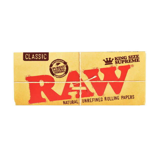 RAW Supreme Natural Rolling Papers | Kingsize