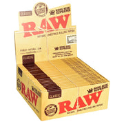 RAW Supreme Natural Rolling Papers | Kingsize Display