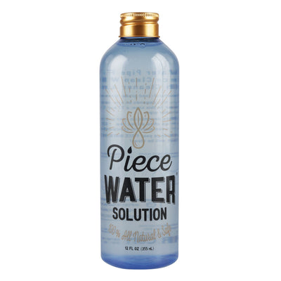 Piece Water - Water Pipe Solution - 12oz Bottle