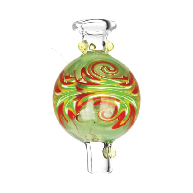 Green UV Thermal Worked Bubble Carb Cap