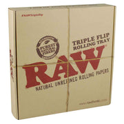 RAW Triple Flip Rolling Tray Packaging