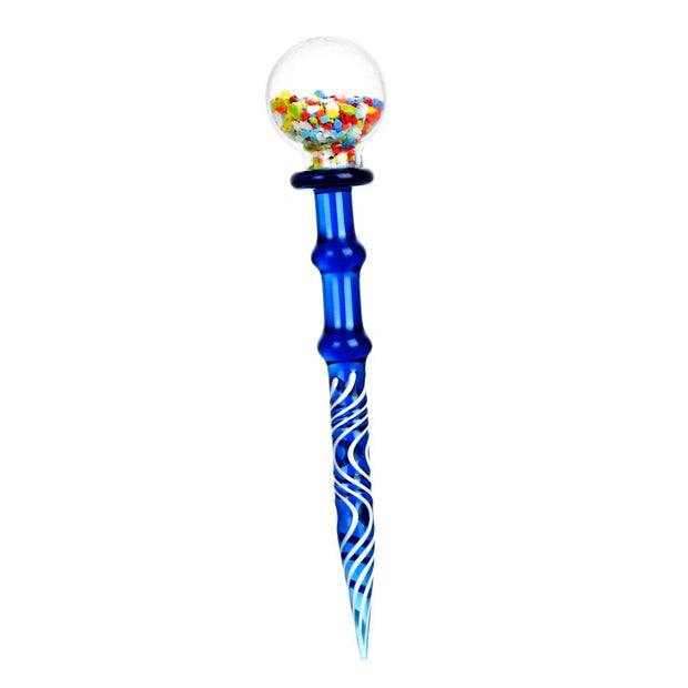 Gumball Glass Dab Tool | Blue