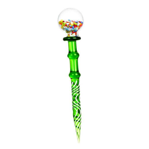 Gumball Glass Dab Tool | Green