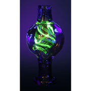 Pulsar UV Bubble Swirl Carb Cap | Black Light | 25mm