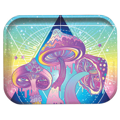 "Pulsar Metal Rolling Tray - 11""x7"" 