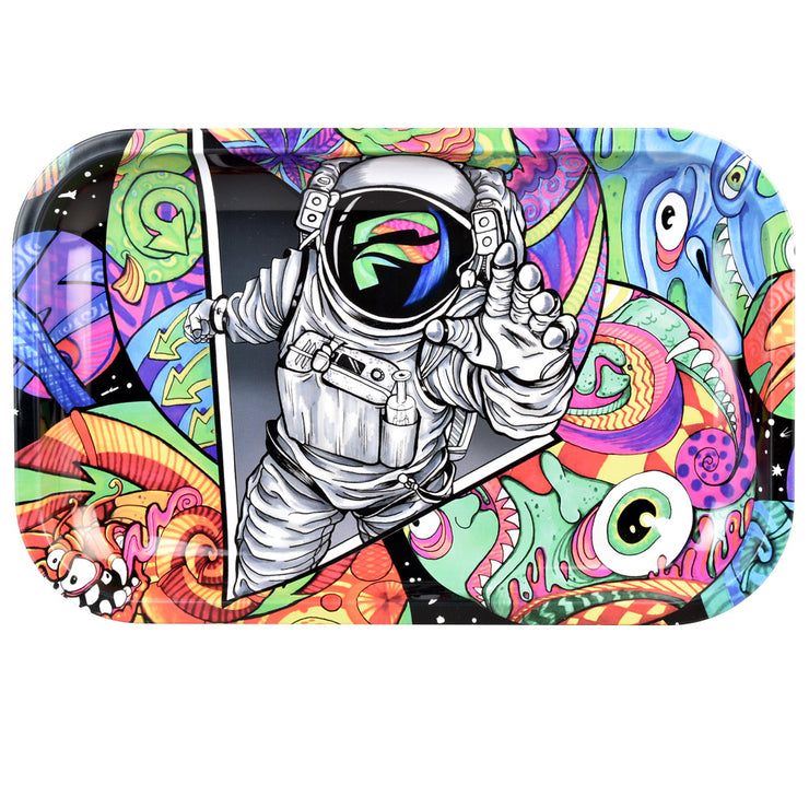 Pulsar Rolling Tray | Amberly Downs Psychedelic Spaceman