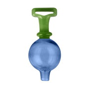 Colorful Stand Up Bubble Carb Cap - Blue Green Color