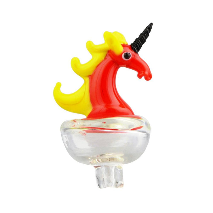 Bright Unicorn Carb Cap | Red Yellow