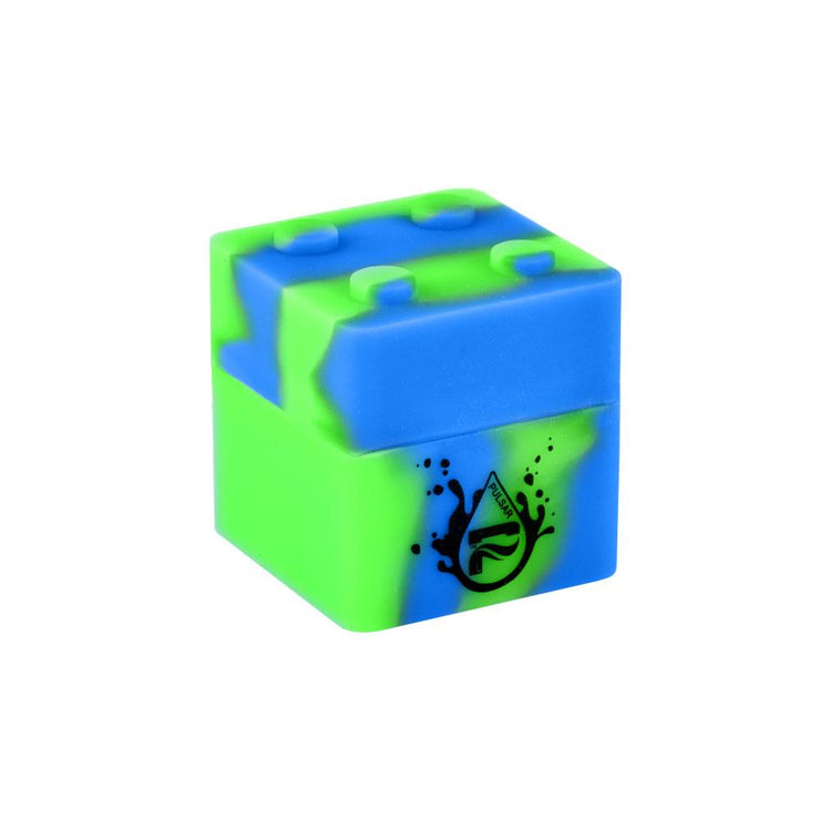Pulsar RIP Series Dab Silicone Container | 9mL | Blue Green