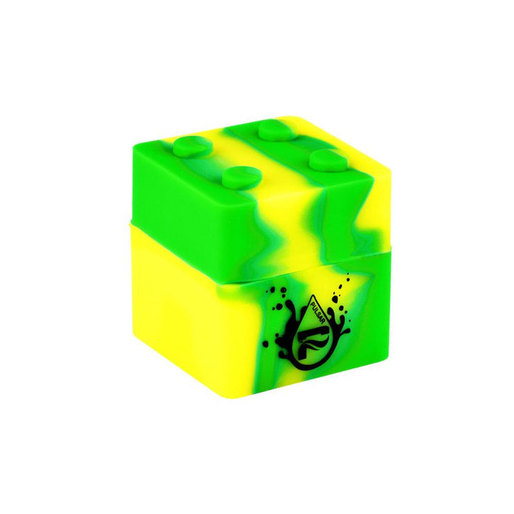 Pulsar RIP Series Silicone Container - 9mL | Green Yellow