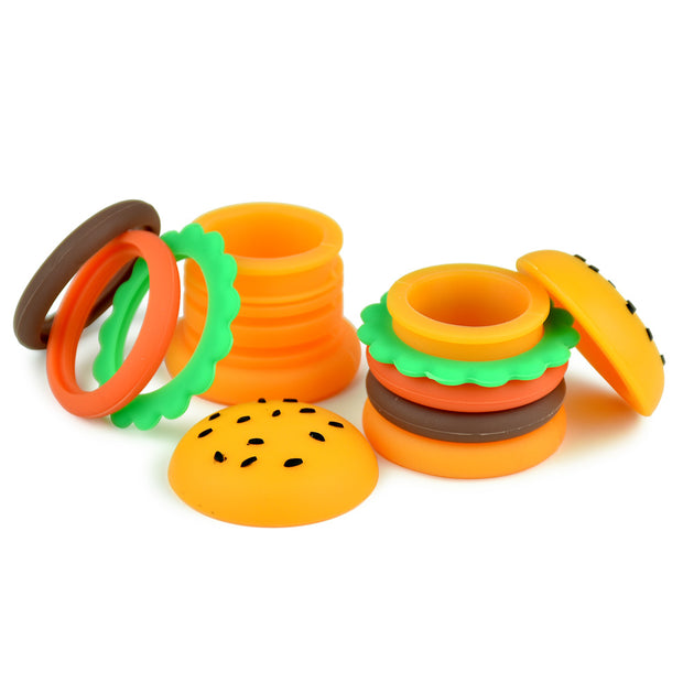 Silicone Hamburger Storage Container