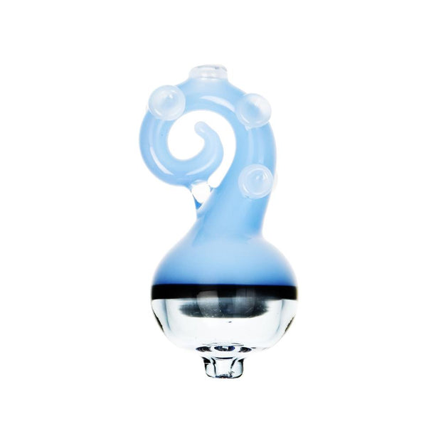 Octopus Tentacle Bubble Carb Cap | Light Blue