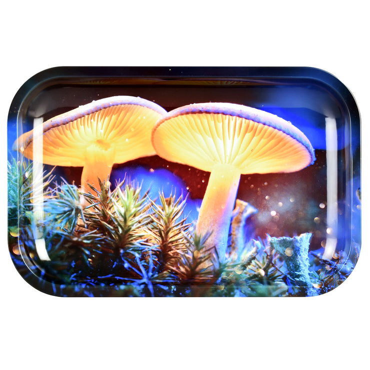 Pulsar Metal Rolling Tray | Mystical Mushrooms | Medium
