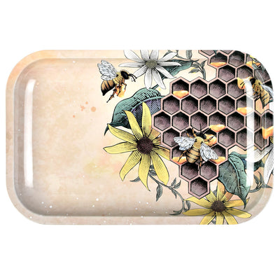 Pulsar Metal Rolling Tray | Busy Bees | Medium