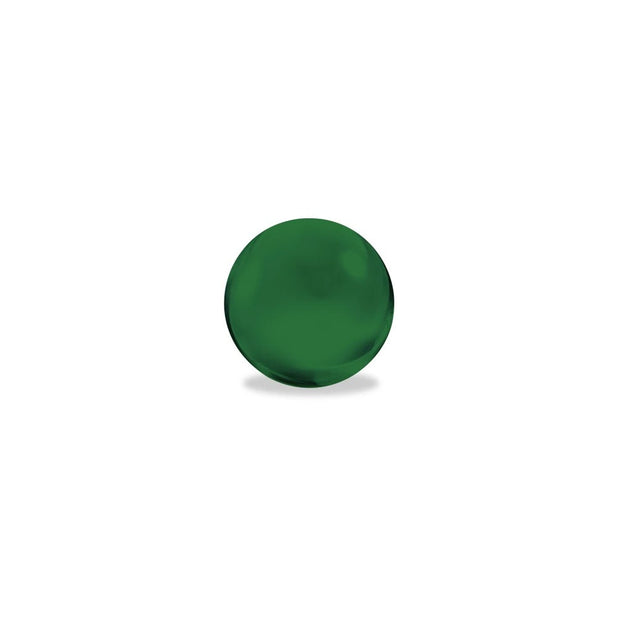 Colored Glass Terp Pearls | Emerald Green