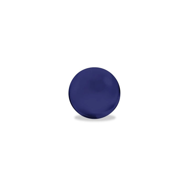 Colored Glass Terp Pearls | Sapphire Blue