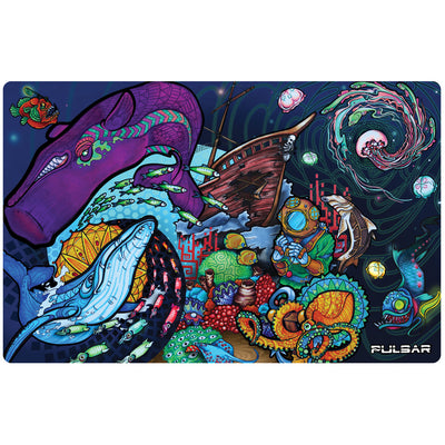 Pulsar DabPadz Dab Mat | Amberly Downs Psychedelic Ocean