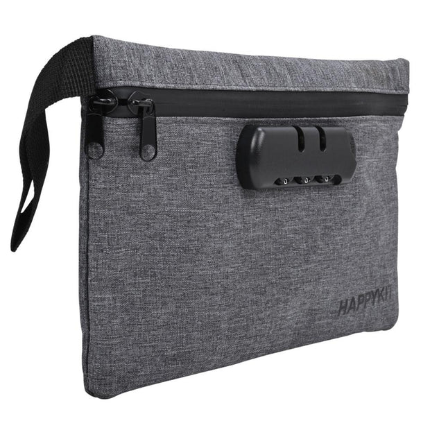 Happy Kit Happy Pouch Lockable Travel Kit | Gray