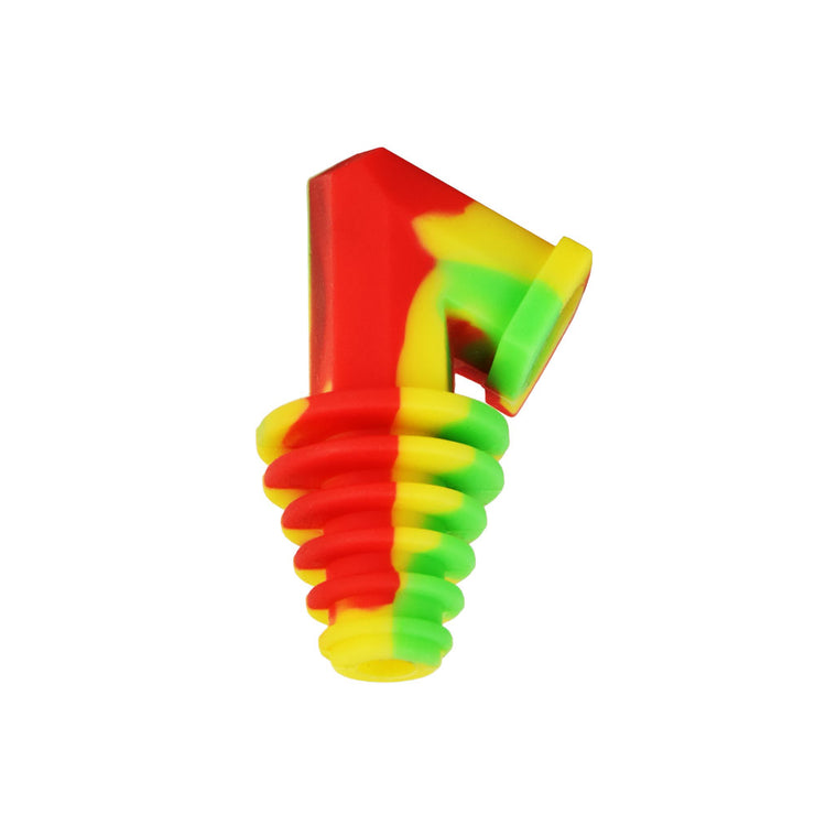 Pulsar Silicone Cart Rig Adapter | Rasta Color