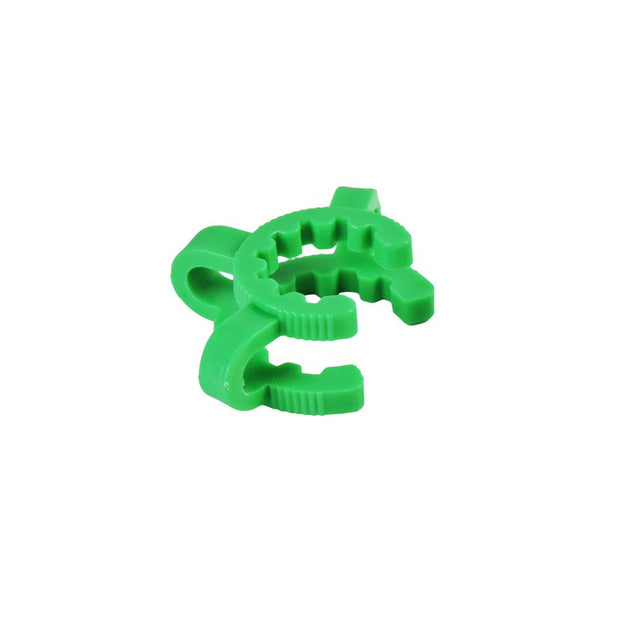 Green Plastic Keck Clip | 14mm