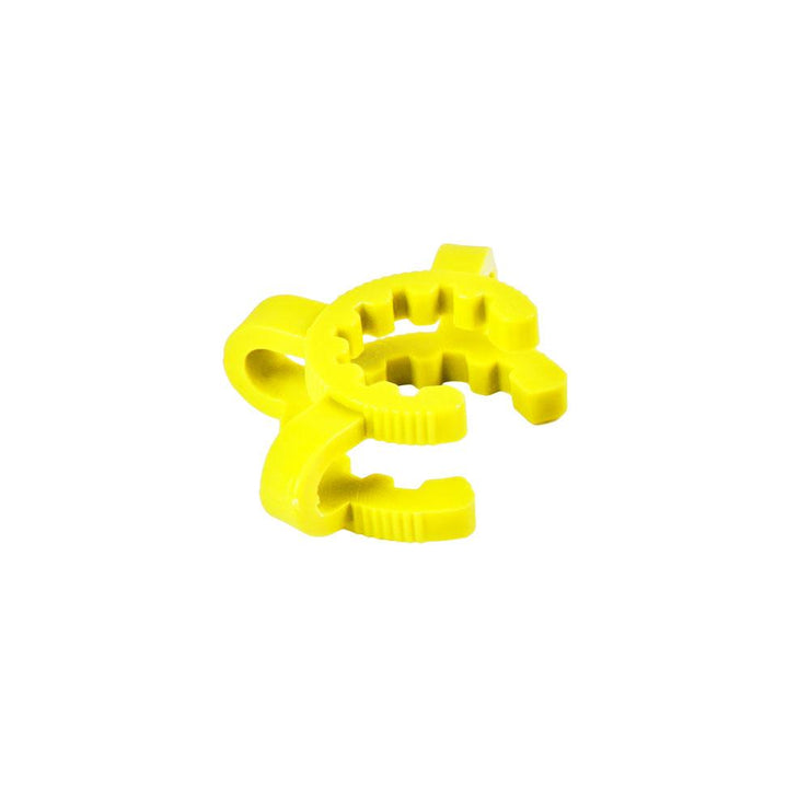 Yellow Plastic Keck Clip | 14mm