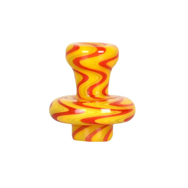 Pulsar Wig Wag Carb Cap | Yellow Red