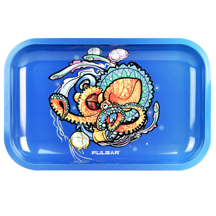 Pulsar Rolling Tray Artist Series | Psychedelic Octopus