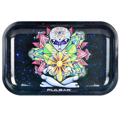 Pulsar Rolling Tray Artist Series | Psychedelic Alien