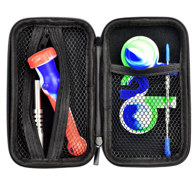 Portable Silicone Dab Travel Kit