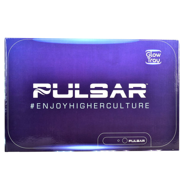 Pulsar Logo Glow LED Rolling Tray | Packaging