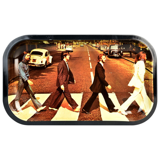 Rock Legends Fab4 Abbey Road Rolling Tray