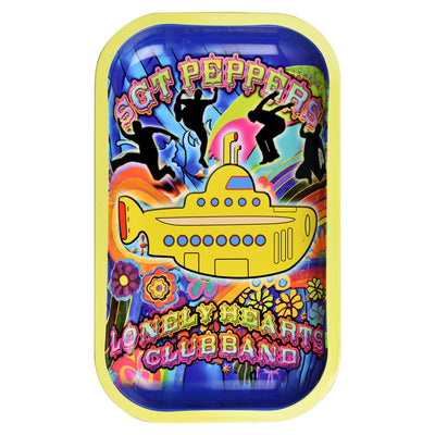 Rock Legends Fab4 Yellow Submarine Rolling Tray