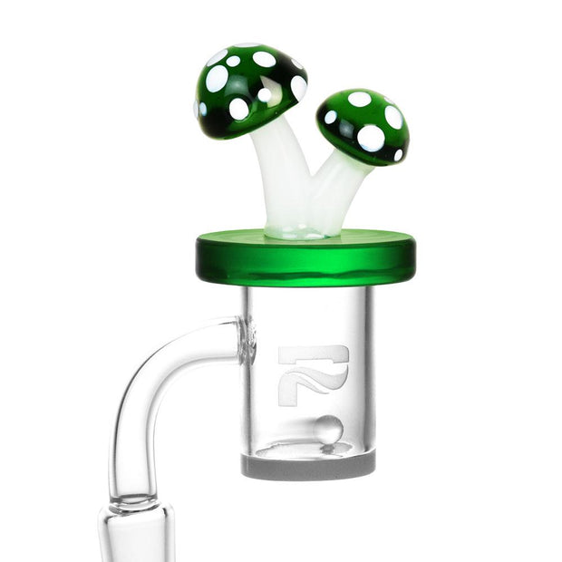 Air Spin Channel Carb Cap | Mushroom