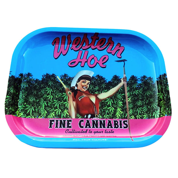 Kill Your Culture Rolling Tray | Western Hoe