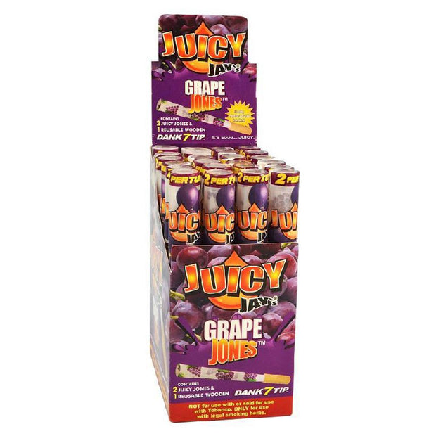 Juicy Jays Pre-Rolled Cones | Grape Jones