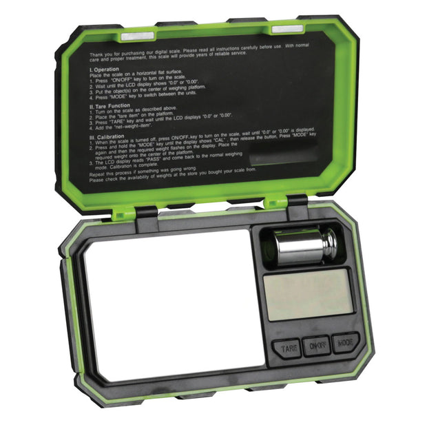 DigiWeigh Cyber Series Scale - Black & Green