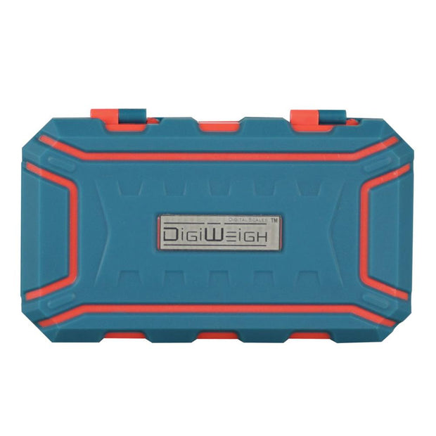 DigiWeigh Cyber Series Scale - Blue & Orange