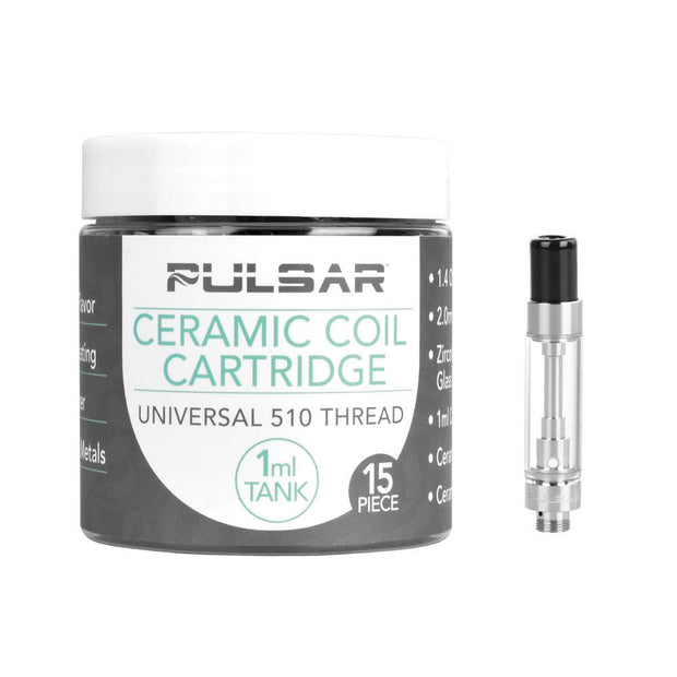 Pulsar Ceramic Coil Cartridges | For Thick Oil | 1mL