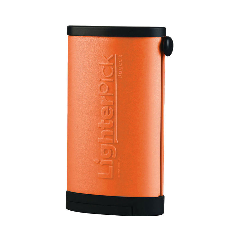 LighterPick All-In-One Waterproof Smoking Dugout - Orange