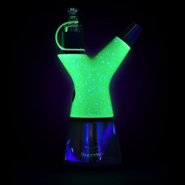 Pulsar RöK Luna Electric Dab Rig | Glowing View