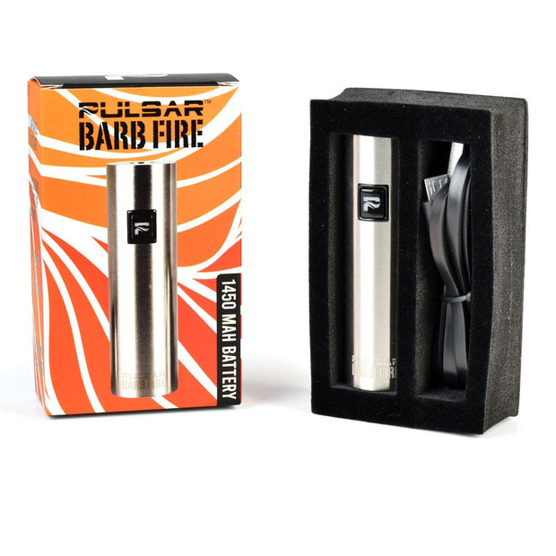 Pulsar Barb Fire Variable Voltage Battery | 1450mAh | Packaging